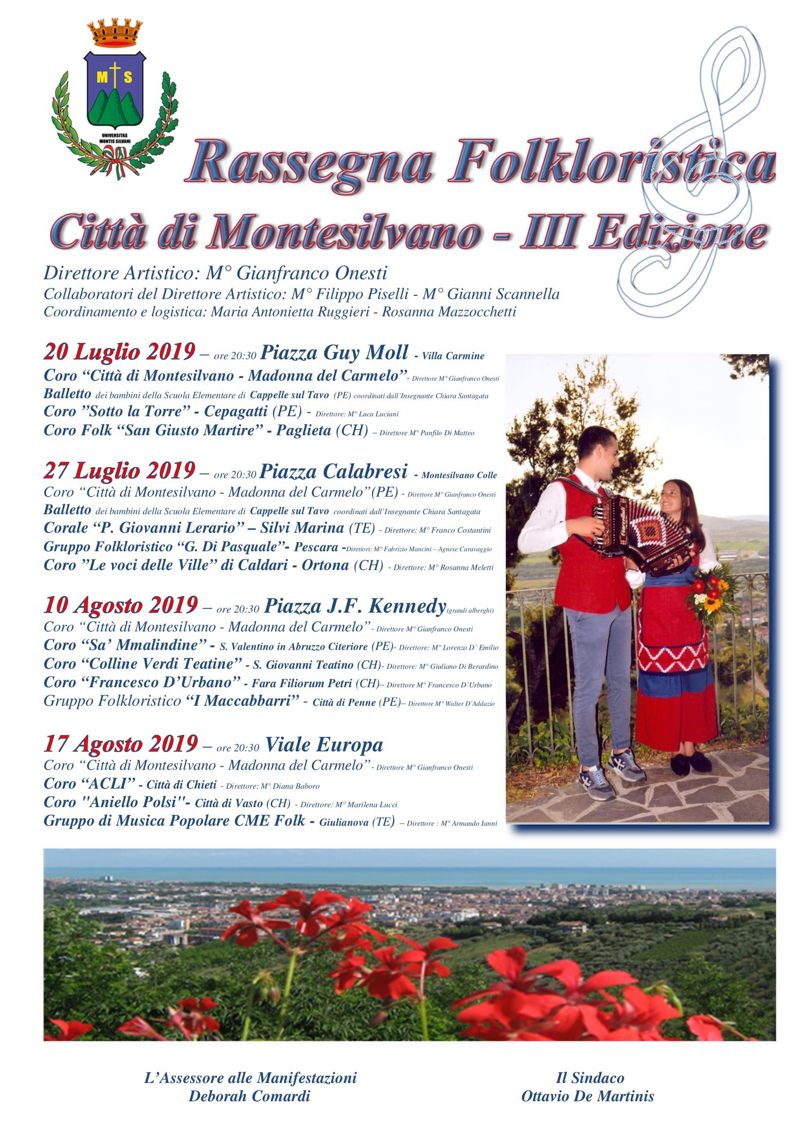 3° Edizione Folkloristica città di Montesilvano (Pe)